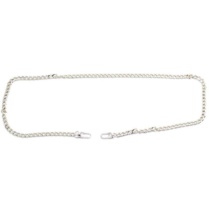 Exquisite Flat Chain For Handbag Or Shoulder Strapping Bag Light Golden 100CM