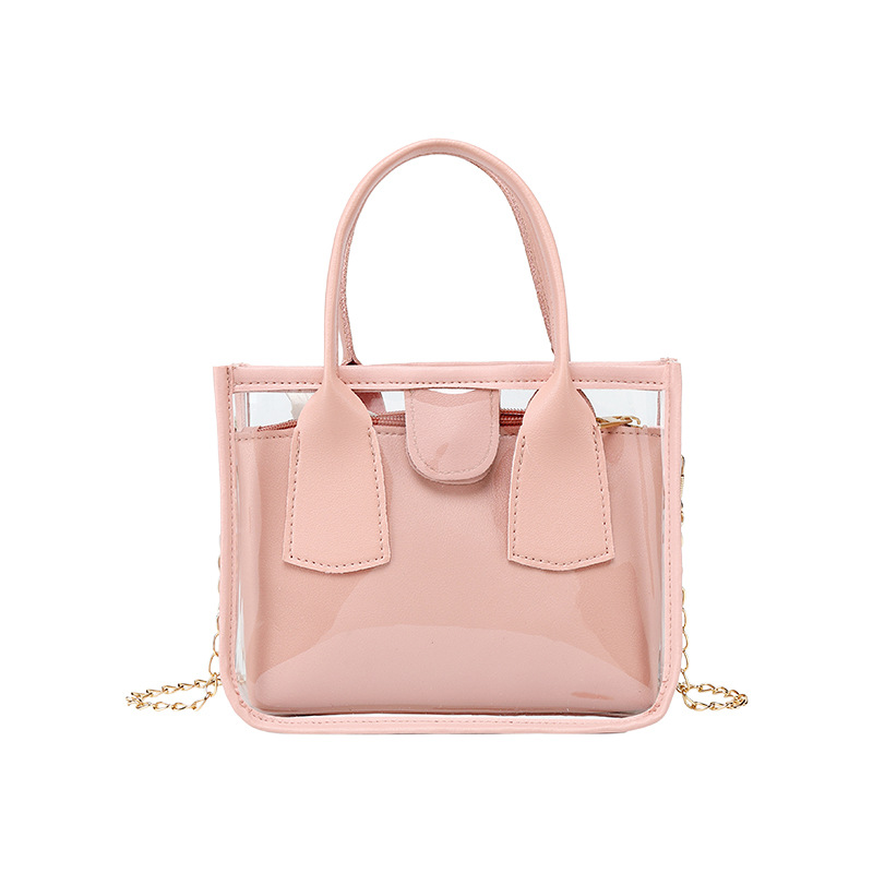 Sac à main Transparent pour femmes, sacs à bandoulière décontracté, sacoche de luxe de marque, sacs à épaule pour dames, 2020  