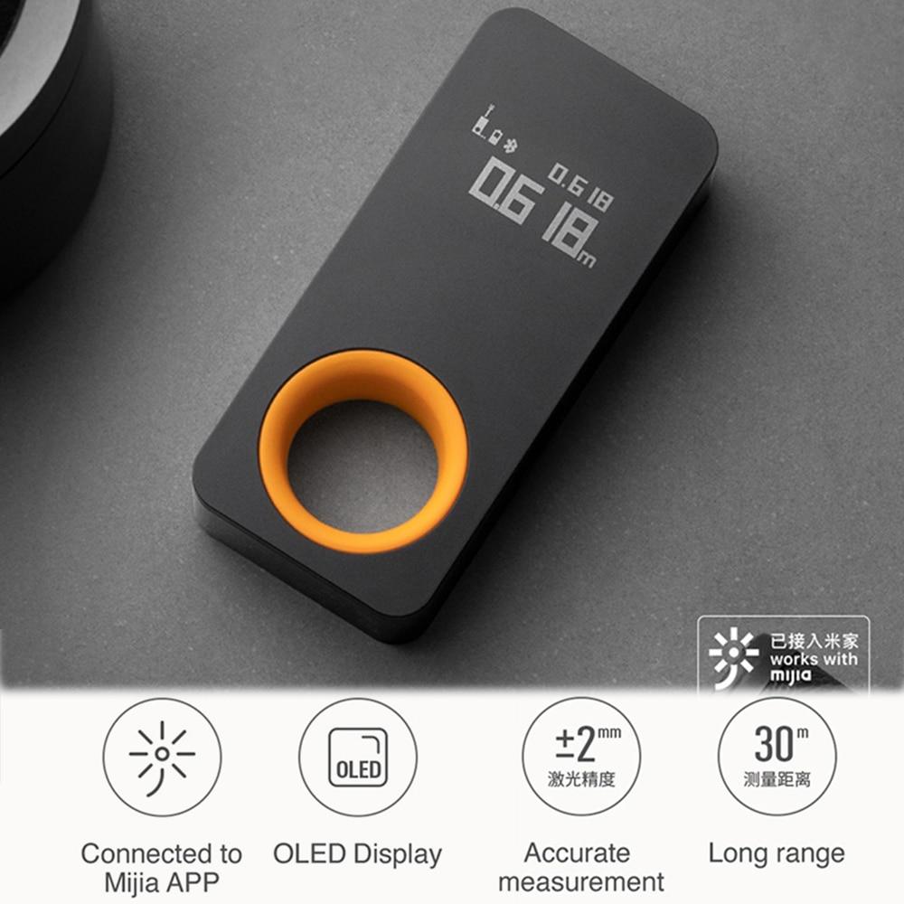 Laser Tape Measure Smart Laser Rangefinder Intelligent 30M OLED Display Laser Distance Meter Connect To Mobile Phone