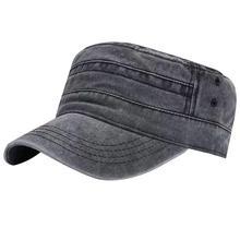 Винтажная джинсовая кепка с плоской подошвой унисекс, дышащая однотонная уличная спортивная солнцезащитная Кепка, повседневная Кепка Snapback