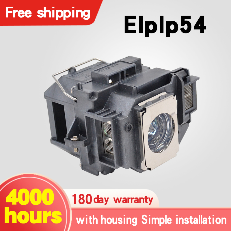 Replacement Projector Lamp ELPLP54 For PowerLite HC 705HD 79 / S7 S8 W7 H309A H309C H310C H311B H311C With Housing