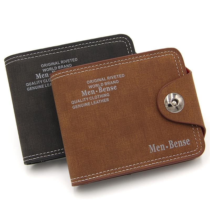 Multifunctional Retro Men's Wallet Short Casual Coin Purse Large Capacity Wallet 2020 New Korean Version