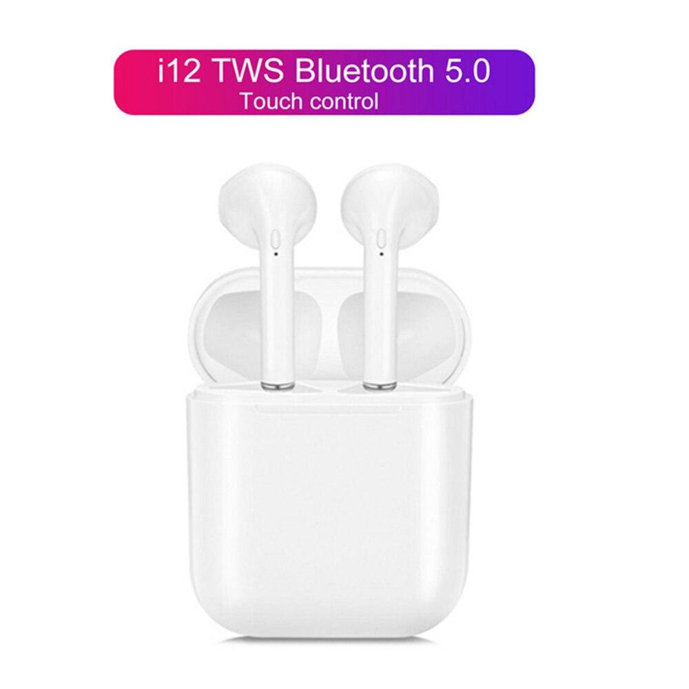 Inpods 12 I12 TWS Wireless Earphone Headphones Bluetooth 5.0 Sport Earphones Earbuds For Iphone Xiaomi Samsung