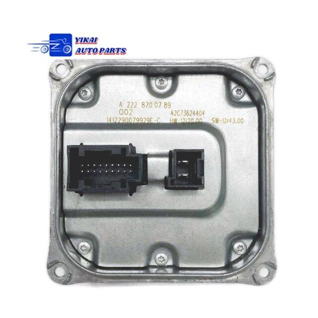 1pcs LED Headlight Voltage Regulator module A2228700789  for Mercedes BENZ E350 E400 E500 E550 E63 C300 C350 C400 C550 C63