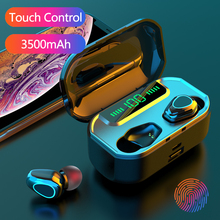 3500mAh Wireless Bluetooth Earphone Headphones With Microphone TWS Wireless Earbuds