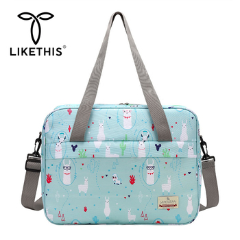 LIKETHIS Fashion Maternity Bags Baby Mummy Nappy Bag Large Capacity Shoulder Tote Waterproof Mom Baby Outdoor Travel Diaper Bags multi function large capacity waterproof travel mummy maternity nappy baby bag travel backpack mom baby diaper nursing bags