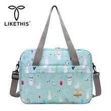 LIKETHIS Fashion Maternity Bags Baby Mummy Nappy Ba