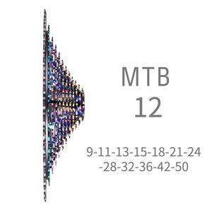Image 2 - ZTTO MTB 12 Geschwindigkeit 9T 50T Kassette Ultimative XD Kassette Regenbogen K7 375g 12V ULT Kassette ultraleicht 12s Kassette 1299 k7 kettenrad