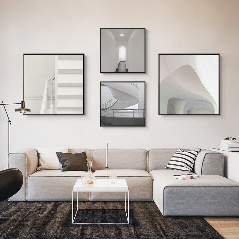 Mordern минималистичный стиль холст картина настенные картины для гостиной Мода пространство стиль плакаты и принты искусство декоративная к...