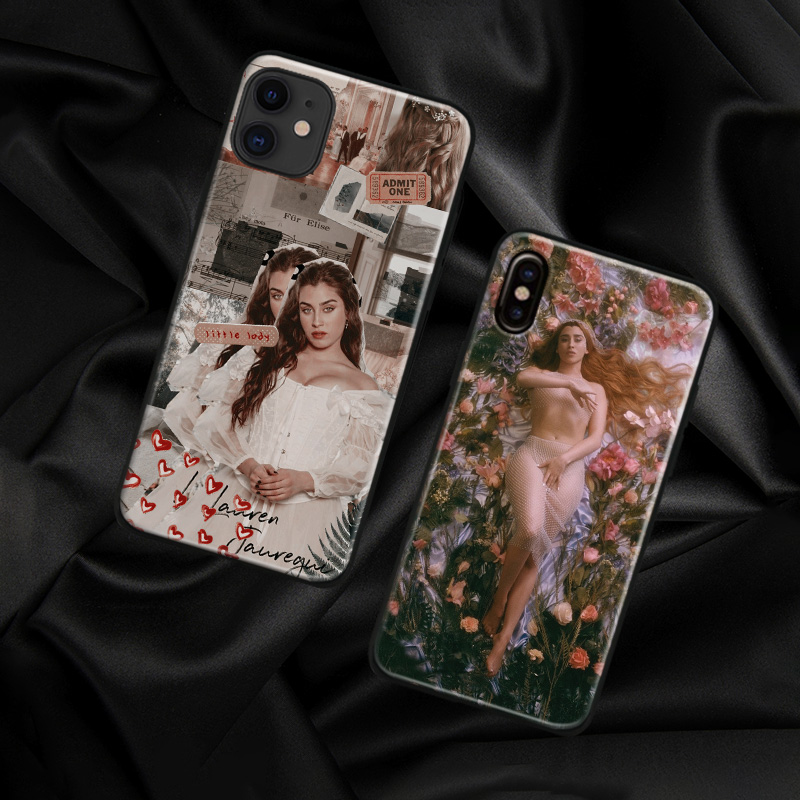 <font><b>Lauren</b></font> Jauregui fashion luxury For iPhone 6 6s 7 8 Plus X XR XS 11 Pro Max soft silicone Phone case cover shell image