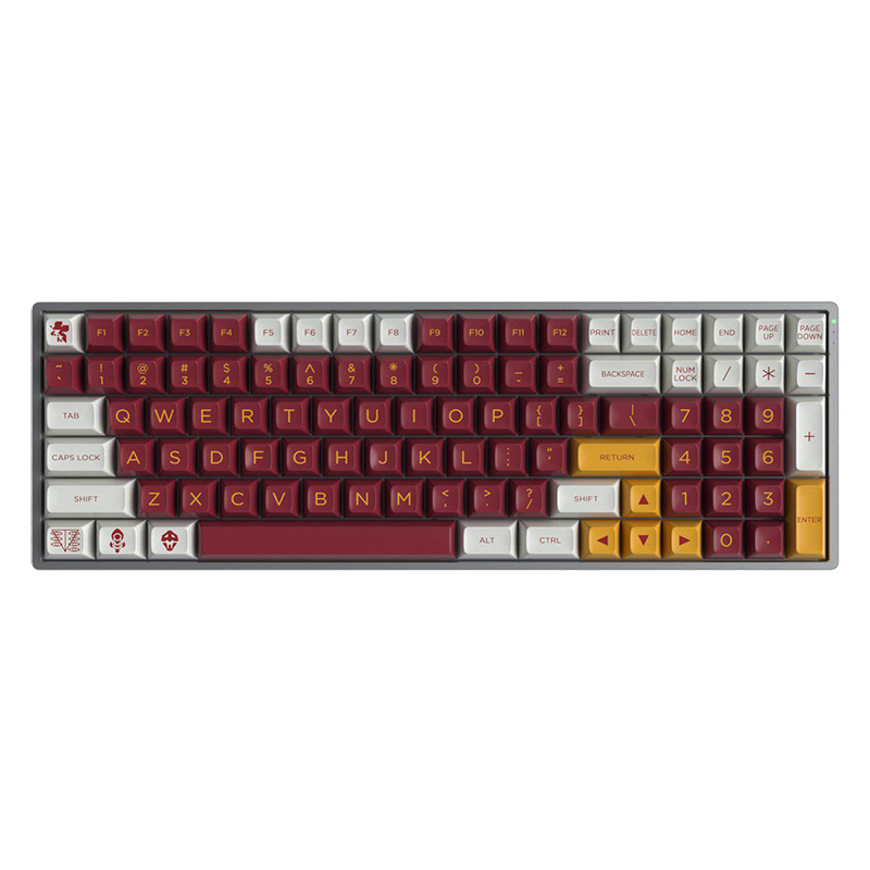 New Arrival 1 Kit Maxkey R2 ABS Double-Shot Keycap For MX Switch Mechanical Keyboard SA Profile Key Cap For EVANGELION-02