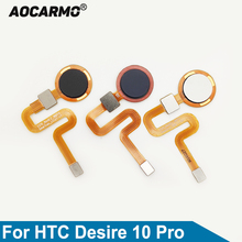 Aocarmo Cho HTC Desire 10 Pro Nút Home Cảm Biến Vân Tay Touch ID Cáp Mềm Thay Thế