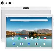 Nowy 10.1 Cal 4G LTE Tablet Pc osiem rdzeni Android 9.0 Google Play GPS WiFi Bluetooth podwójne karty SIM połączenie telefoniczne podwójne aparaty