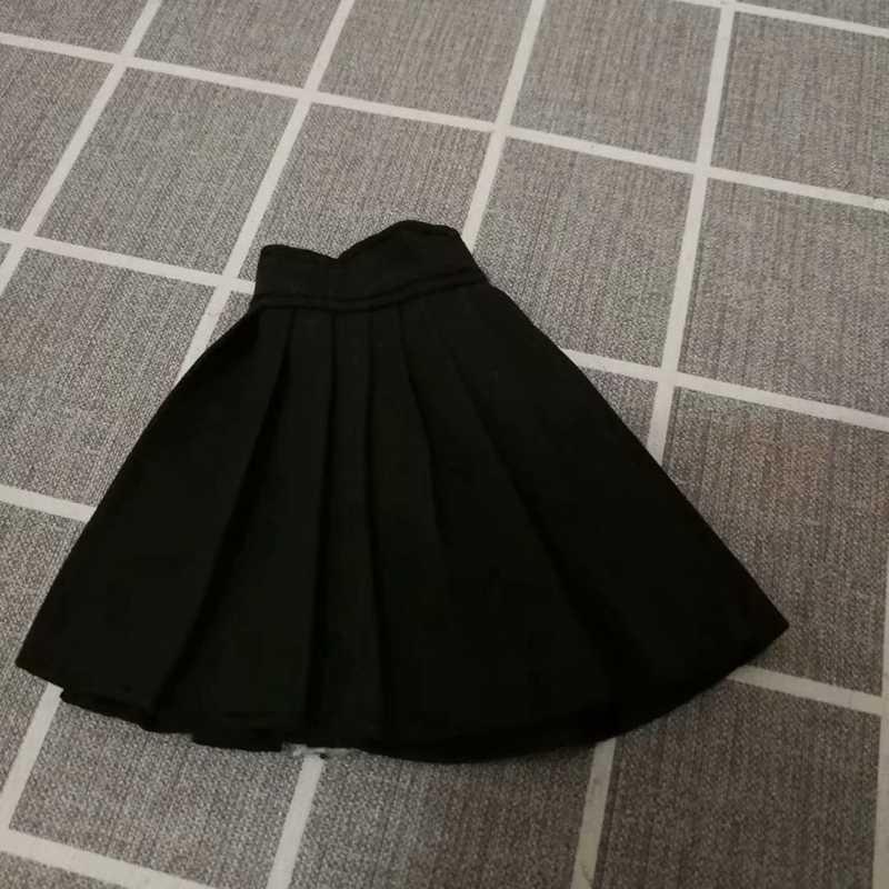 Mini muñeca ropa moda 1/6 BJD SD falda negro blanco vestido muñeca Accesorios Niña juguetes para niños para muñecas Navidad regalos