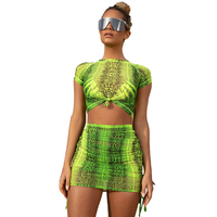 UIDEAZONE Holo, прозрачные сетчатые женские футболки, голографические футболки с коротким рукавом, пуловеры, футболки, 2020, весна-лето, уличная одеж...