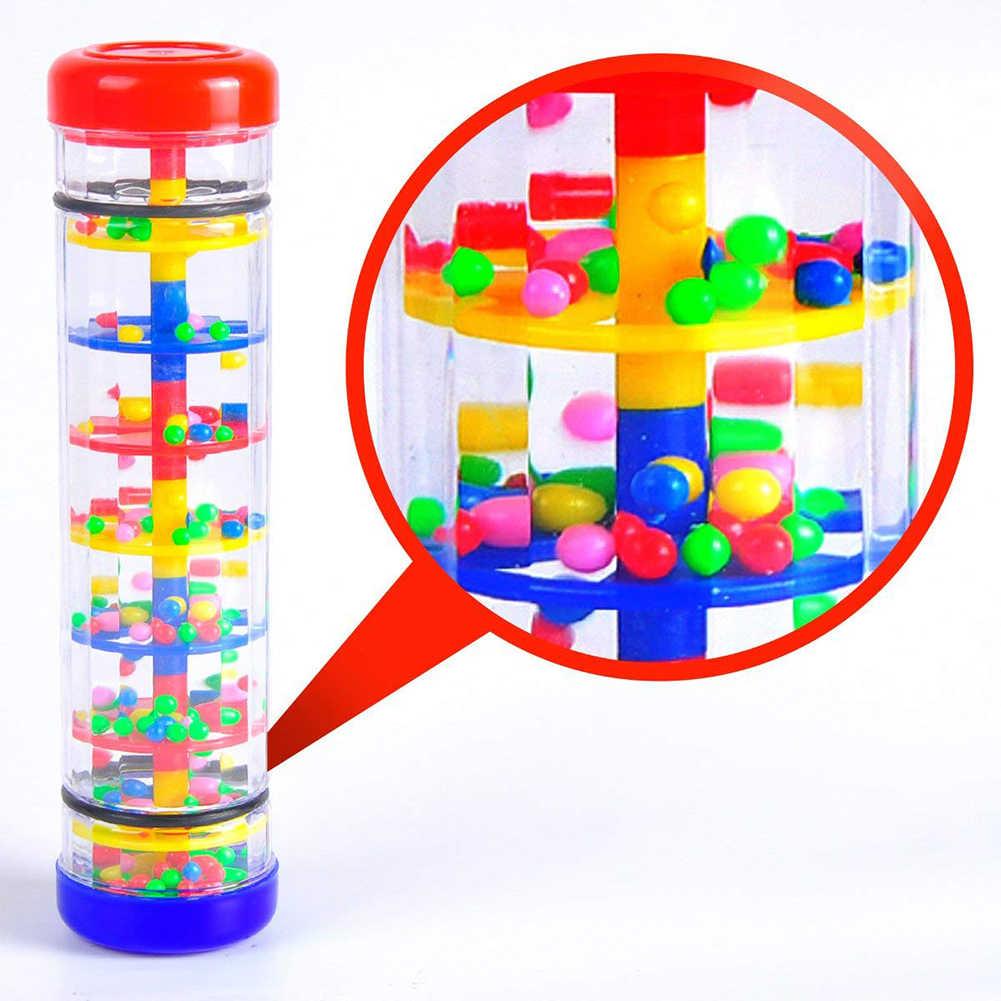 1/2/3 pulgadas niños lluvia tubo palo instrumento de percusión Musical divertidos juguetes educativos para niños