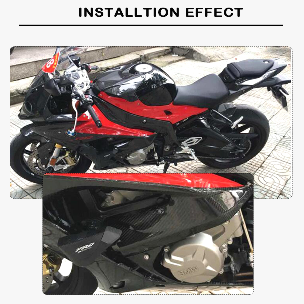 For S1000RR 2015-2018 Madracing Left Right Carbon Fiber Side Panel Fairing Kits Cover