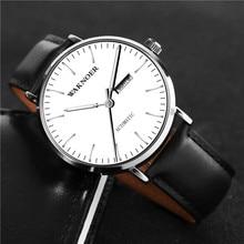 WAKNOER Luminous Top Brand Luxury Wristwatches watch men mechanical sport men