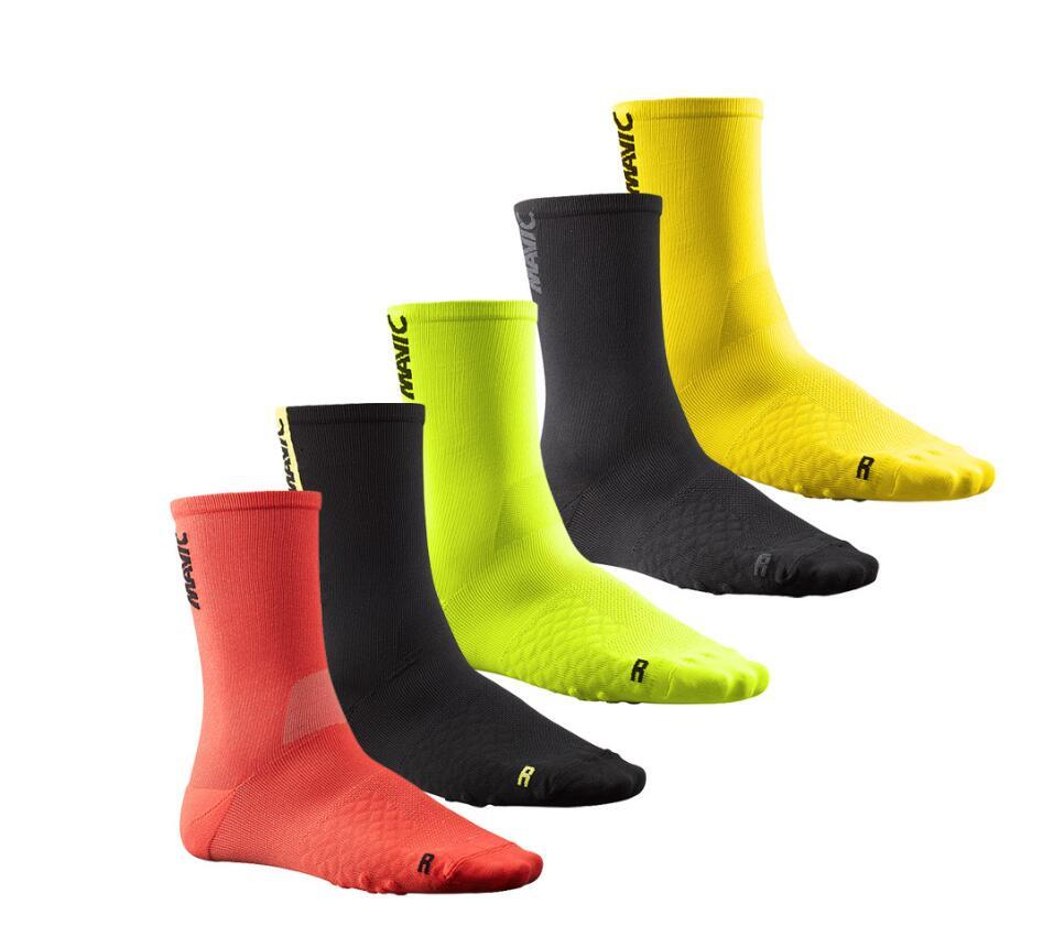 Coolmax Men Women Cycling Sock Breathable Outdoor Basketball Socks Protect Feet Wicking Bike Running Football Sport Socks