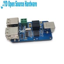 1 قطعة رباعية USB المعزل USB محور العزلة وحدة اقتران لوح حماية ADUM3160