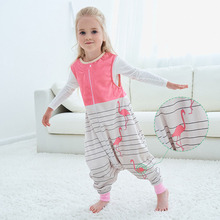 2021 New Infant Clothes Autumn And Winter Children's sleeping Bag Baby Air-conditioned Clothes Flannel Pajamas Baby Sleeping Bag