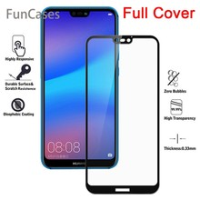 Hard Tempered Glass For Huawei mate 20 lite cover For huawei P20 pro Screen Protector P20Lite P 20 p20 Plus Protective Glass(China)