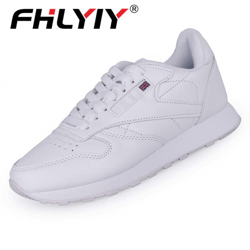 Fhlyiy Men'S Pu Sneakers Female Casual Leather Shoes For Men Breathable Non-Slip Rubber Shoe Plus Size 36-48 Zapatos De Hombre