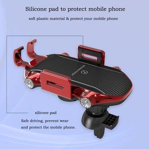 Image 5 - Dokunmatik sensör kablosuz araba şarjı Qi hızlı şarj araç tutucu için Huawei P30Pro Mate20PRo iphone XR XS