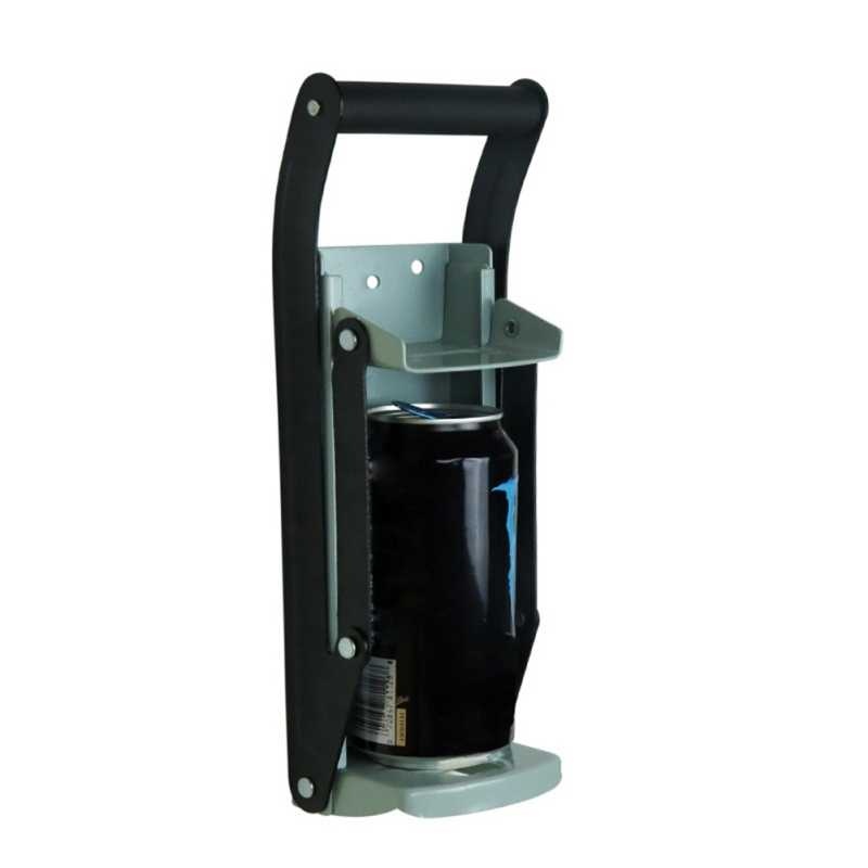 Triturador Montado En La Pared de F/ácil Extracci/ón Para Reciclar Latas y Botellas de Pl/ástico Trituradora de Latas de Pl/ástico de 16 Oz