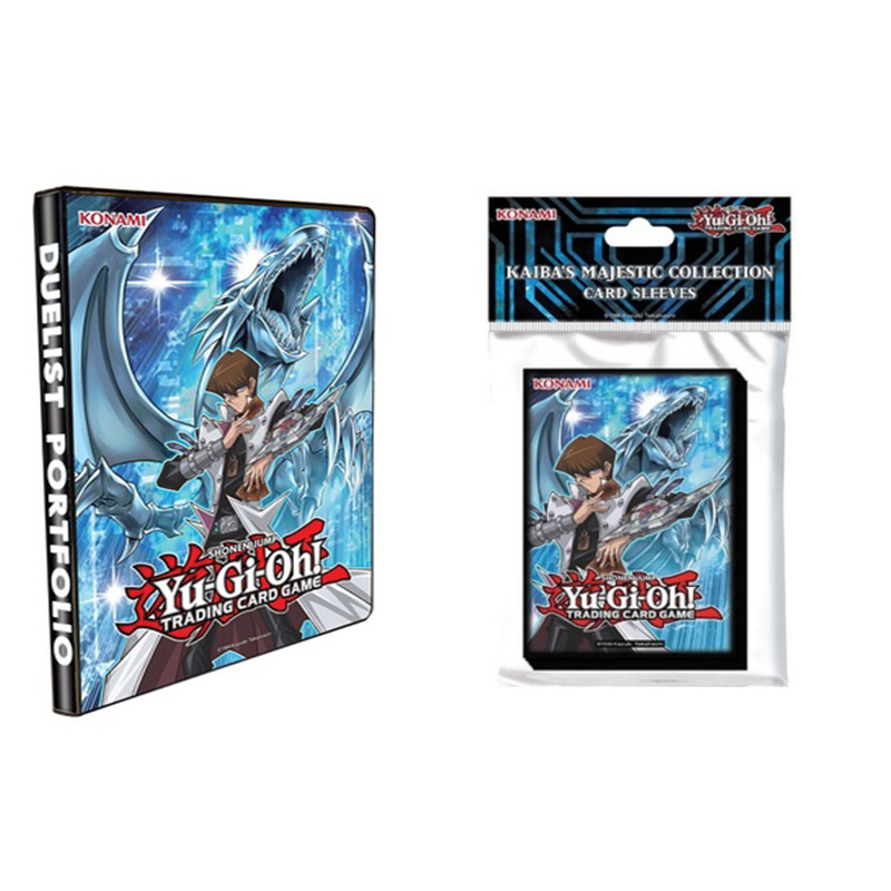 Kaiba's Majestic Collection Card Sleeves :: Konami Official High Quality Yu Gi Oh