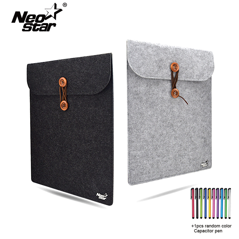 Wool Felt Laptop Case Cover For Macbook Air Pro Retina 11 13 15 Laptop Bag For Mac Notebook Bag For Dell Samsung Sony