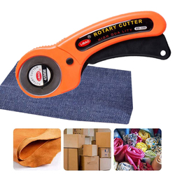 Rotary Cutter Blades 45mm Leather Cutting Tool DIY Patchwork Sewing Quilting Fit Olfa Cut Fabric Cutter Circular Blade