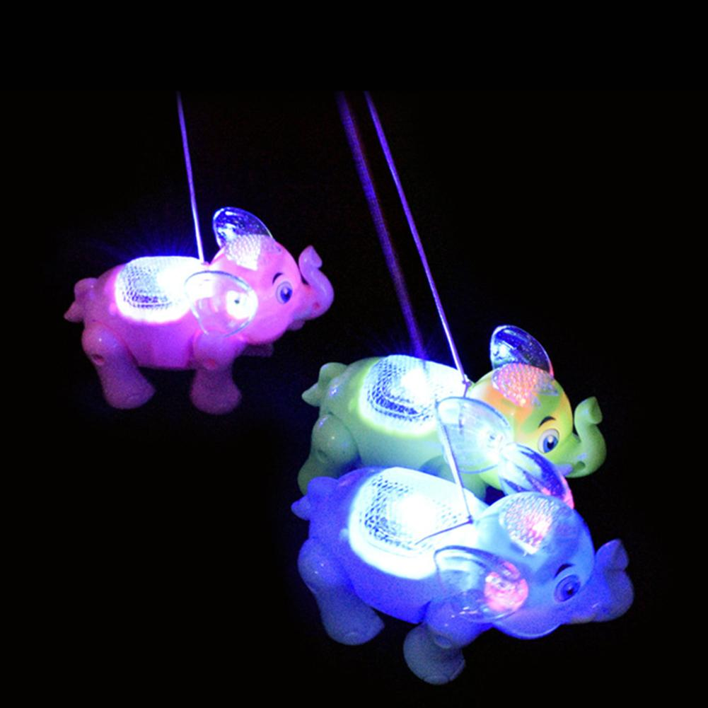 игрушки Juguetes Kids Glowing Toy Funny Musical Lighting Walking Elephant Animal With Leash Kids Toy Xmas Gift Interactive Toy W