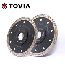 TOVIA 115mm/125mm diamentowa piła tarczowa ostrza cięcie granit porcelana płytka ceramiczna piła tarczowa cienkie piły