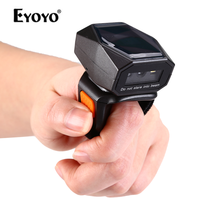 Ring-Barcode-Scanner Wired Wearable Bluetooth iPhone Eyoyo 2d Mini Android USB iPad 3-In-1