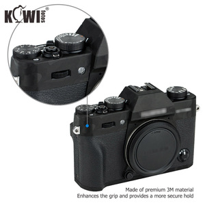Image 3 - Kiwi anti risco câmera corpo capa protetor de pele para fujifilm X T30 fuji xt30 câmera anti slide filme 3 m adesivo sombra preto