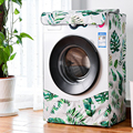 Wasserdicht Waschmaschine Abdeckung Hause Polyester Roller Wäsche Silber Beschichtung Staubdicht Fall Abdeckung