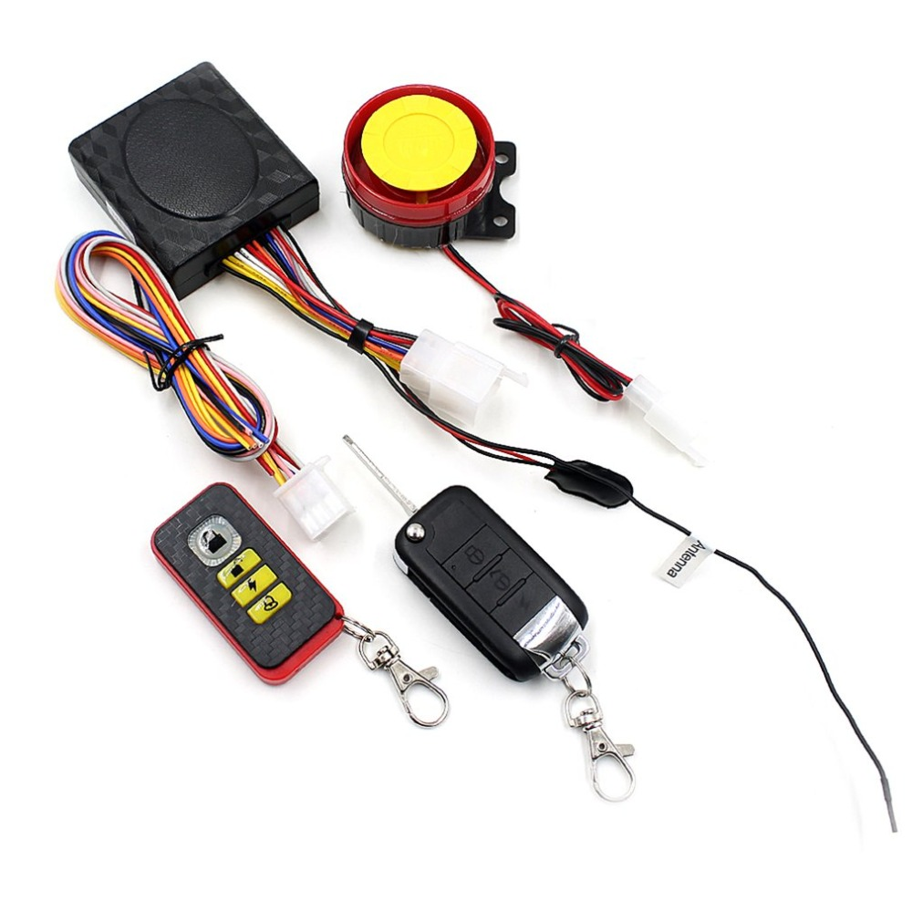 Motorcycle Wireless Intelligent Security Alarm System Motorcycle Anti-theft Device