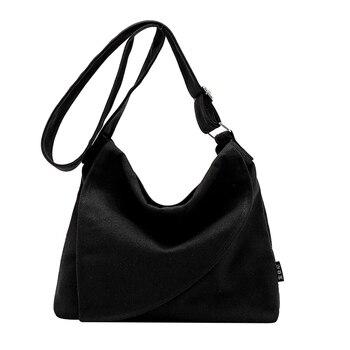 Элегантная женская сумка на плечо холщовый мешок простая треугольная крышка дизайн высокого качества Милая женская однотонная сумка-мессе...