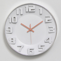 INS Hot Top design Wall Clock Silent Nordic Style Wall Watch Living Room Home Decoration Fashion Hanging Wall Watches 12 Inch