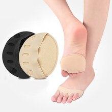 Pięć palców przednie stopy na wysokie obcasy pół wkładki modzele pęcherze ochraniacz na stopę ulga w bólu wkładki przeciwwstrząsowe wkładki wkładki