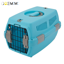 Puppy Dog Air Plane Transport Box Breathable Cat Dog Pet Travel Carrier Box For Cats And Small Dogs Pet Cat Cage