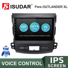 ISUDAR V57S Android Auto Radio Für MITSUBISHI/OUTLANDER 2007 2012 Multimedia Player GPS Stereo System Stimme Control USB keine 2 Din