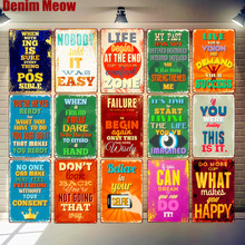 30x20cm Believe In Your Selfie Retro Tin Signs Funny Words Vintage Metal Plate Pub Bar Cafe Wall Art Poster Home Decor N303