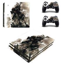 NieR Automata PS4 Pro Aufkleber Play station 4 Haut Aufkleber Decals Für PlayStation 4 PS4 Pro Konsole & Controller Skins vinyl