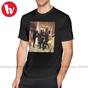 Booba t shirt brawl orly camiseta manga curta impressão camiseta bonito clássico 5x100 algodão masculino tshirt