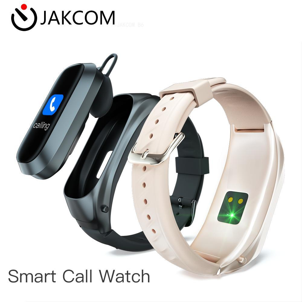 JAKCOM B6 Smart Call Watch New arrival as w68 my band 4 realme watch smart nfc pulseira <font><b>smartwatch</b></font> <font><b>dt</b></font> <font><b>no</b></font> <font><b>1</b></font> bunny e20 image
