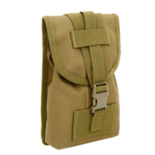 цена на New Outdoor Molle Military Tactical Waist Pack Bags Travel Sport Casual Waist Pack Purse 6 Inch Mobile Phone Belt Bag