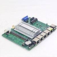 Mini itx placa mãe intel celeron j1900 4x1000 mbps intel 211at gigabit ethernet usb vga rj45 firewall roteador aparelho pfsense|Placas-mães| |  -