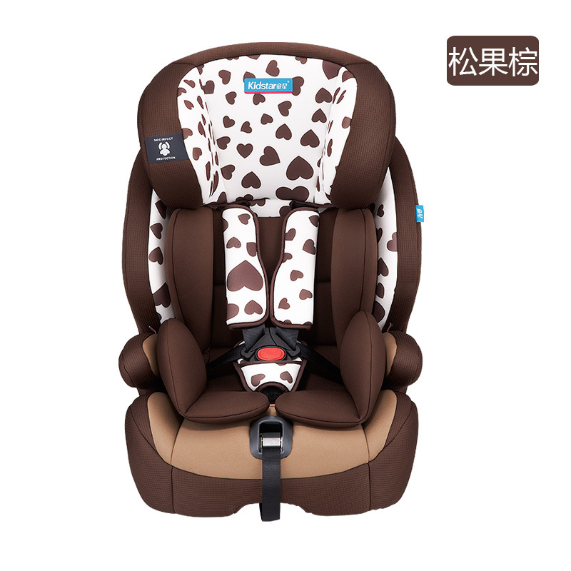 066Child star ks-2160 child safety seat is suitable for 9 months to 12 years old car seat pinecone